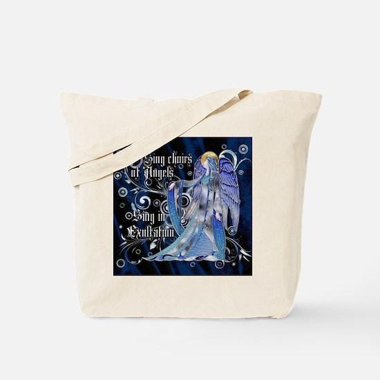 Harvest Moons Art Nouveau Angel Tote Bag