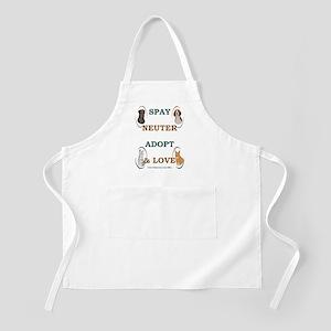 SPAY/NEUTER/ADOPT/LOVE BBQ Apron
