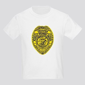 Kansas Highway Patrol Kids Light T-Shirt