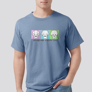 American Eskimo Dog Eski Mens Comfort Colors Shirt