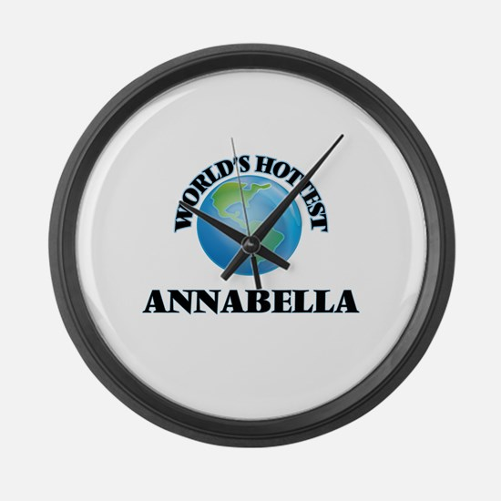 World's Hottest Annabella Large Wall Clock