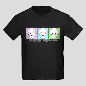 American Eskimo Dog Eskie Kids Dark T-Shirt