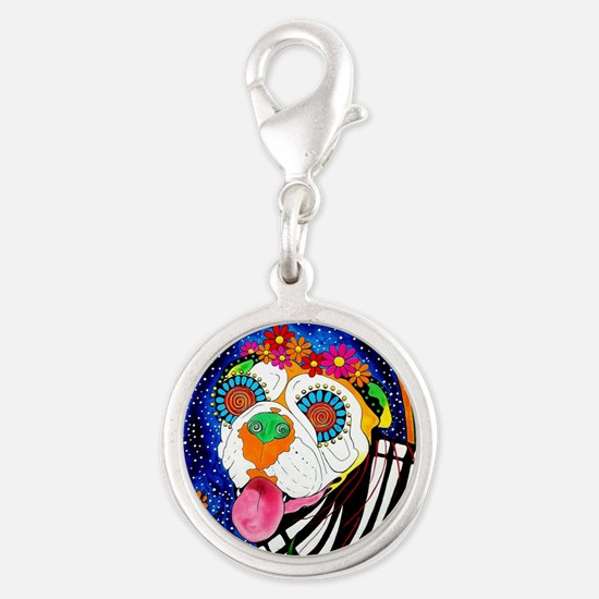Roxy the Bulldog Charms
