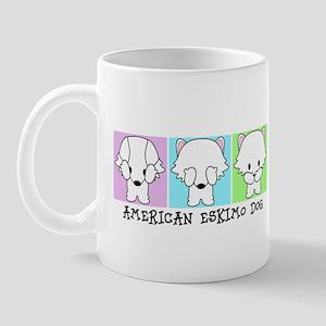 American Eskimo Dog Eskie 11 Oz Ceramic Mug Mugs