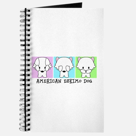 American Eskimo Dog Eskie Journal