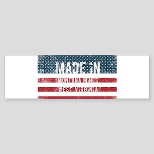 Made in Montana Mines, West Virgini Bumper Sticker