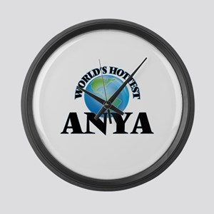 World's Hottest Anya Large Wall Clock
