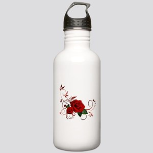 red roses Stainless Water Bottle 1.0L
