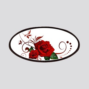 red roses Patches