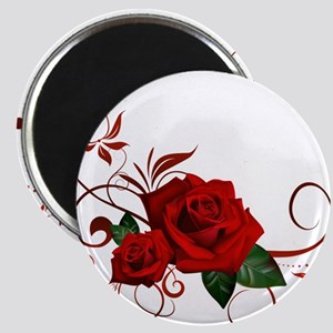 red roses Magnets