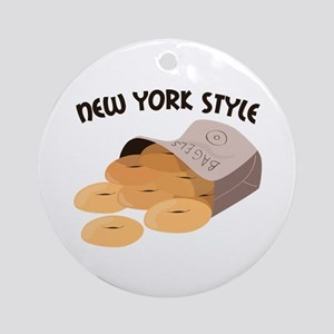 New York Style Ornament (Round)