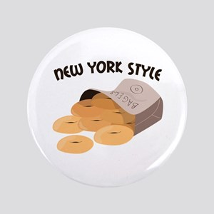 "New York Style 3.5"" Button"