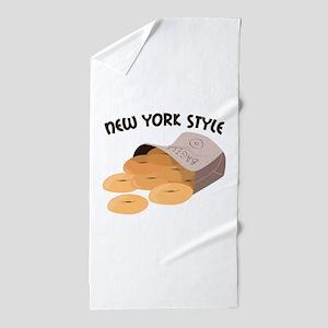 New York Style Beach Towel
