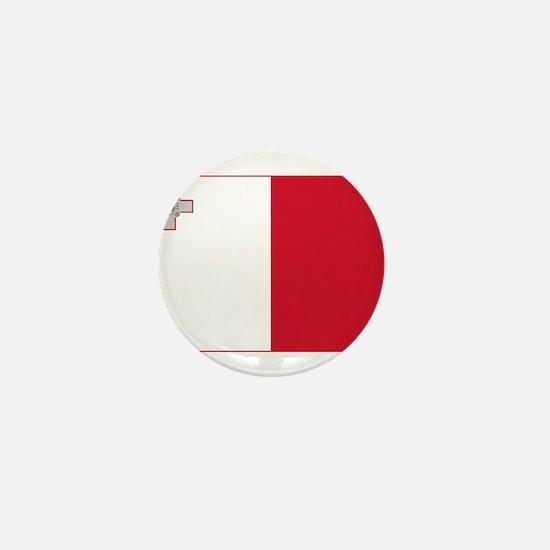 Malta Flag Mini Button