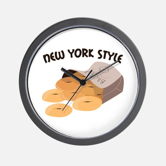 New York Style Wall Clock