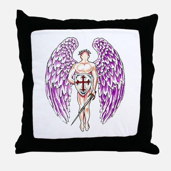 Unique Angel religion beliefs Throw Pillow