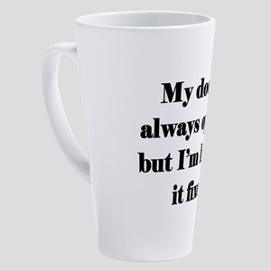 Open Door 17 oz Latte Mug