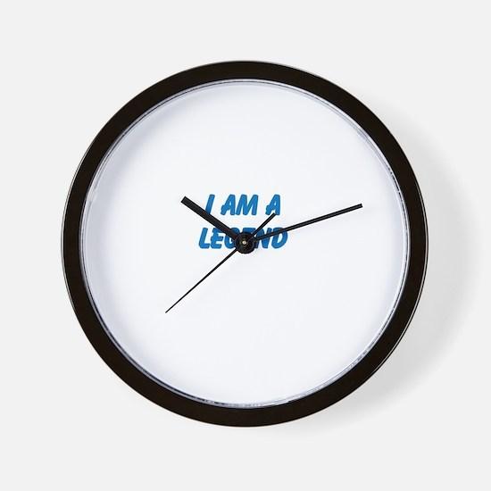 i am a legend Wall Clock