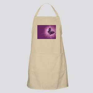 purple butterfly Apron