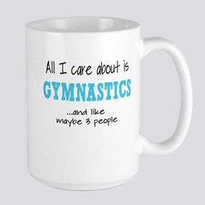 All I Care About Gymnastics Mugs