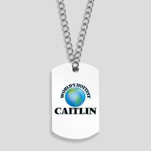 World's Hottest Caitlin Dog Tags