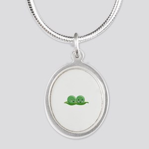 Two Peas Necklaces