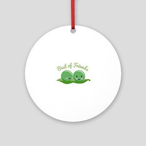 Best Of Friends Ornament (Round)