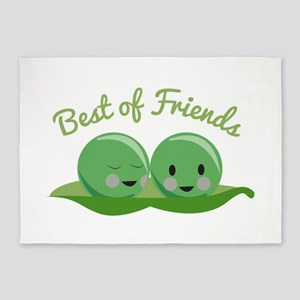 Best Of Friends 5'x7'Area Rug