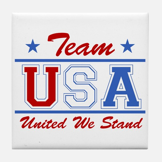TEAM USA United We Stand Tile Coaster