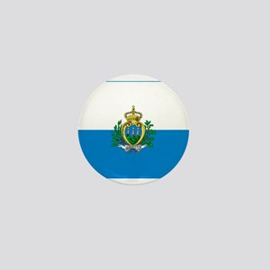 San Marino Flag Mini Button