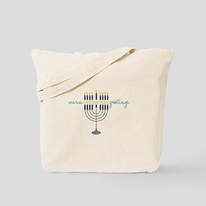 Hanukkah Greetings Tote Bag