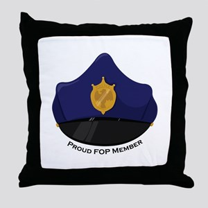 FOP Member Throw Pillow