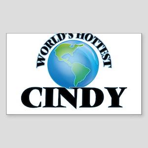World's Hottest Cindy Sticker