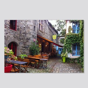 French Cafe Postcards (package Of 8)