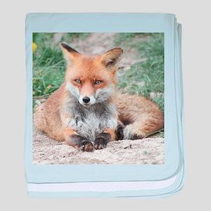 Fox002 baby blanket
