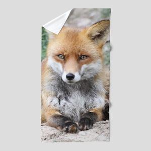 Fox002 Beach Towel