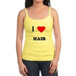 I love hair Jr. Spaghetti Tank