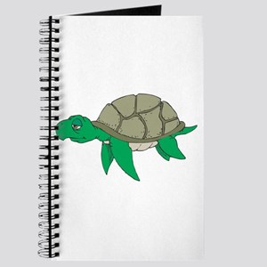 Sleepy LIttle Sea Turtle Journal