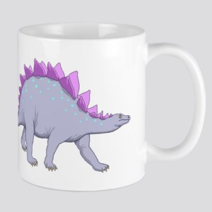 Purple Stegosaurus Mugs