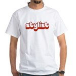 Stylist White T-Shirt