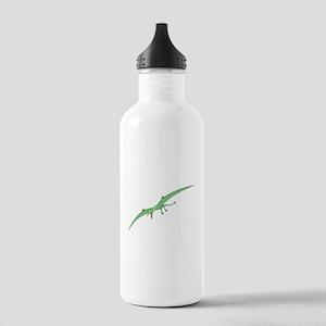 Green Pterodactyl Water Bottle