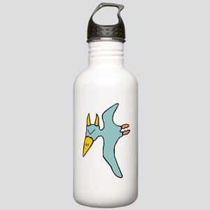Cartoon Pterodactyl Water Bottle