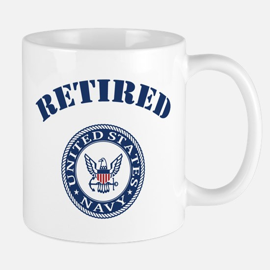 U. S. Navy Retired Mug