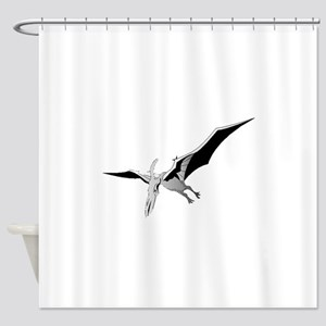 Pterodactyl Shower Curtain