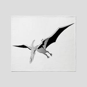 Pterodactyl Throw Blanket