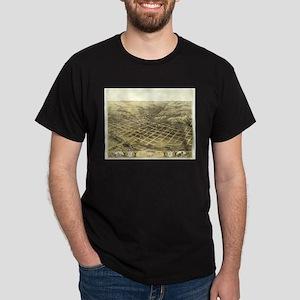 1868 Council Bluffs antiquw m Dark T-Shirt