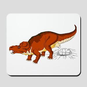 Protoceratops Laying Eggs Mousepad