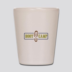 Boot Camp Shot Glass