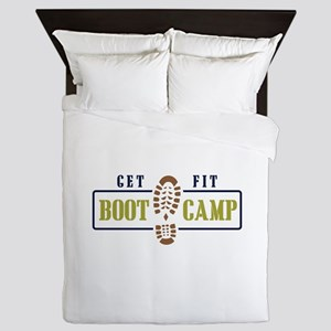 Get Fit Boot Camp Queen Duvet