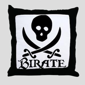 Birate Throw Pillow